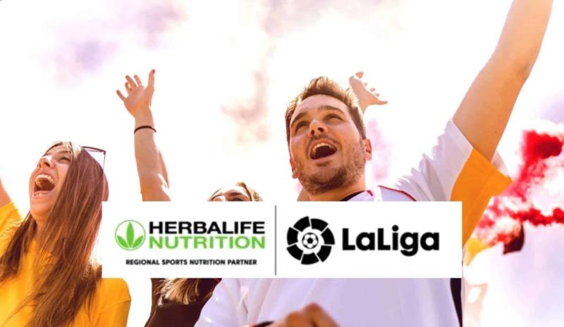 Herbalife sponsorer den spanske fodboldliga, LaLiga